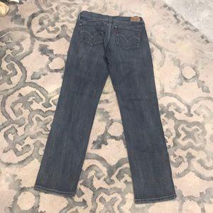Levi's 524 Too Superlow straight leg jeans